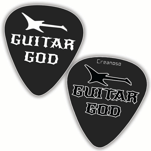 Creanoso Funny Sayings Guitar Picks (12-Pack) - Unique Music Gifts & Guitar Accessories