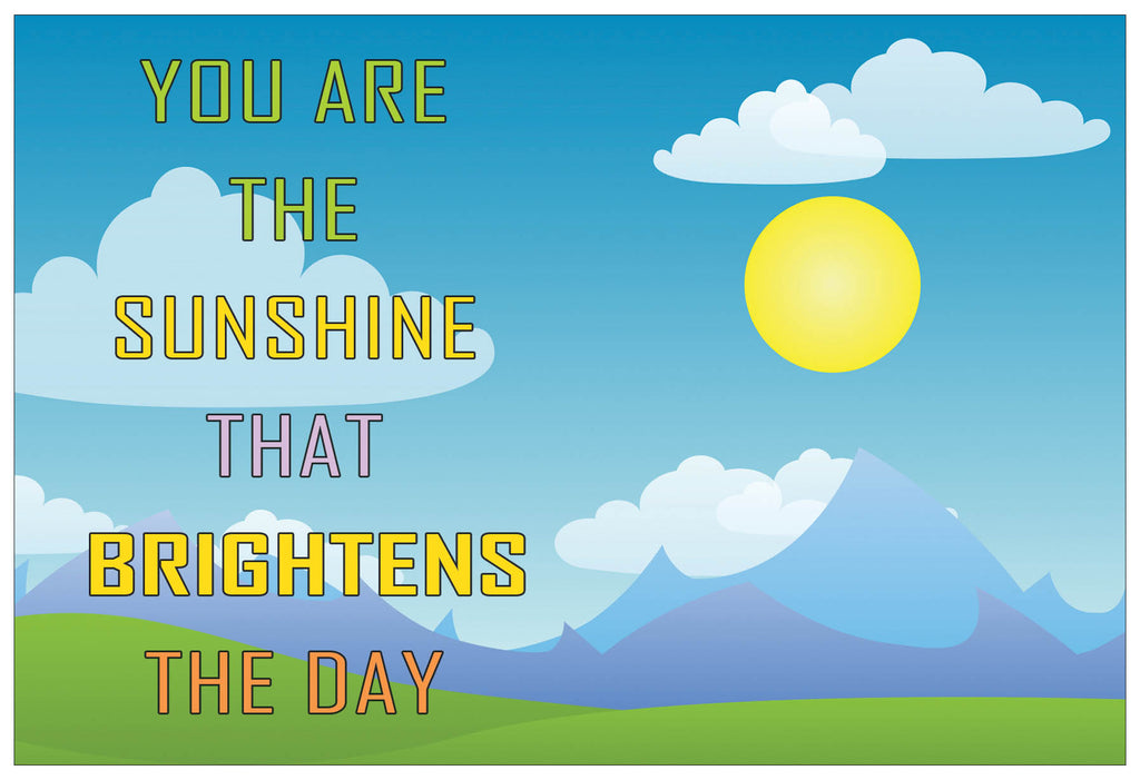 Creanoso Happy Thoughts Positive Quotes Postcards - Cool and