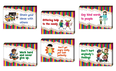 Positive Behavior Postcards (30Pack) - Unique Cool Giveaways for Kids, Adults, Boys,Girls,Women– Great Greeting Cards Collection Set