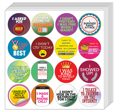 - Achievement Adults Women Creanoso Stickers for Adults Series 2 Premium Gifts for Men Stocking Stuffers Party Favors /& Giveaway Teens 5-Sheets
