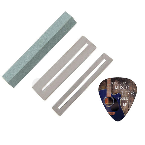 Creanoso Fingerboard Guards and Guitar Fret File Cleaning Tool Set