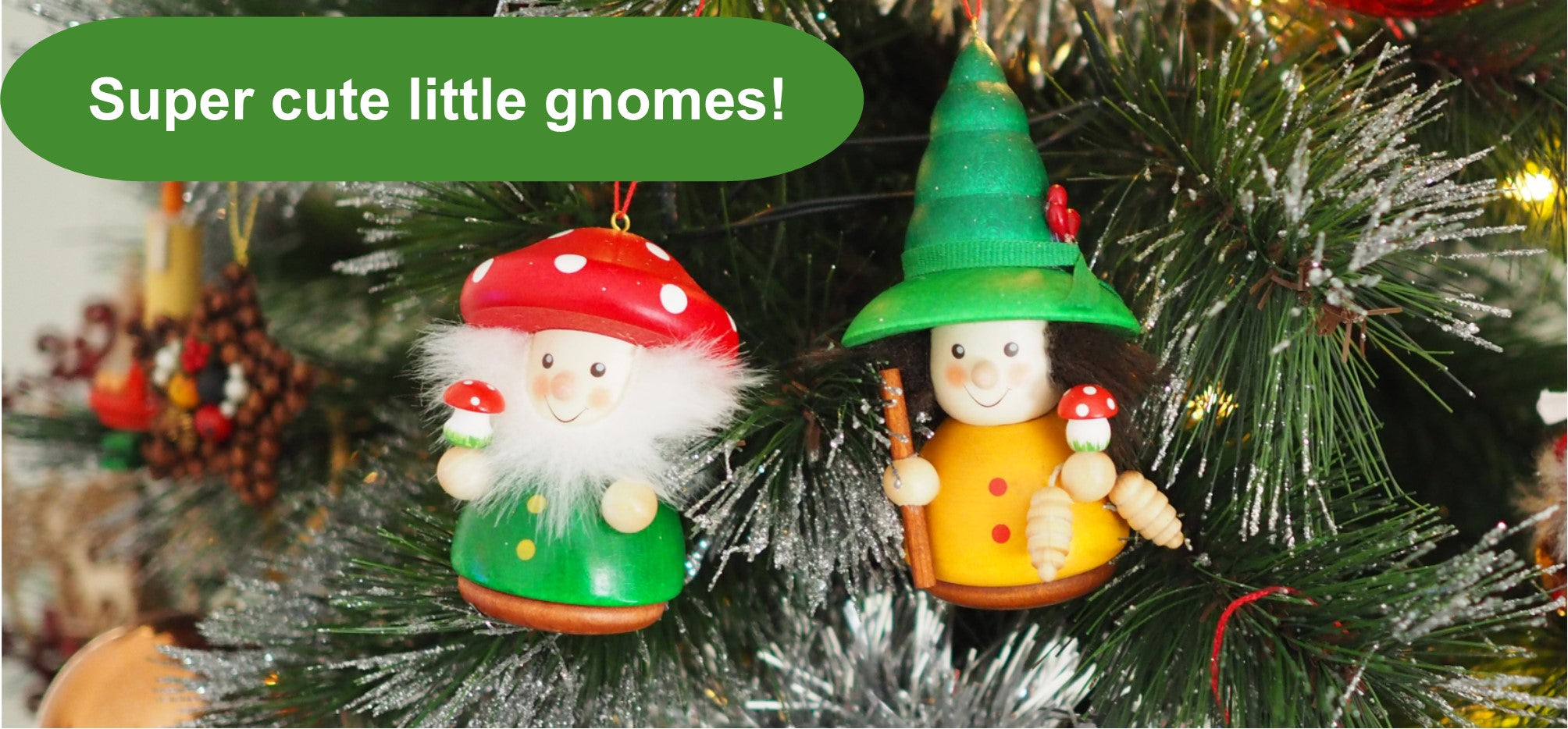 Cute gnomes for decorating a Christmas tree or decor 79