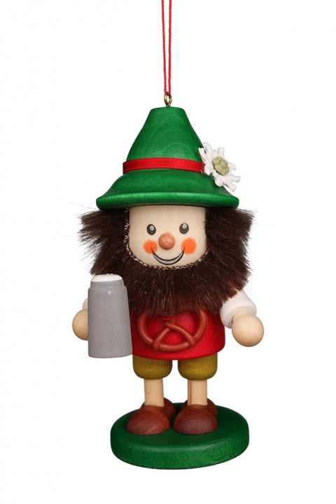 Large gnome Christmas tree decoration - Bavarian