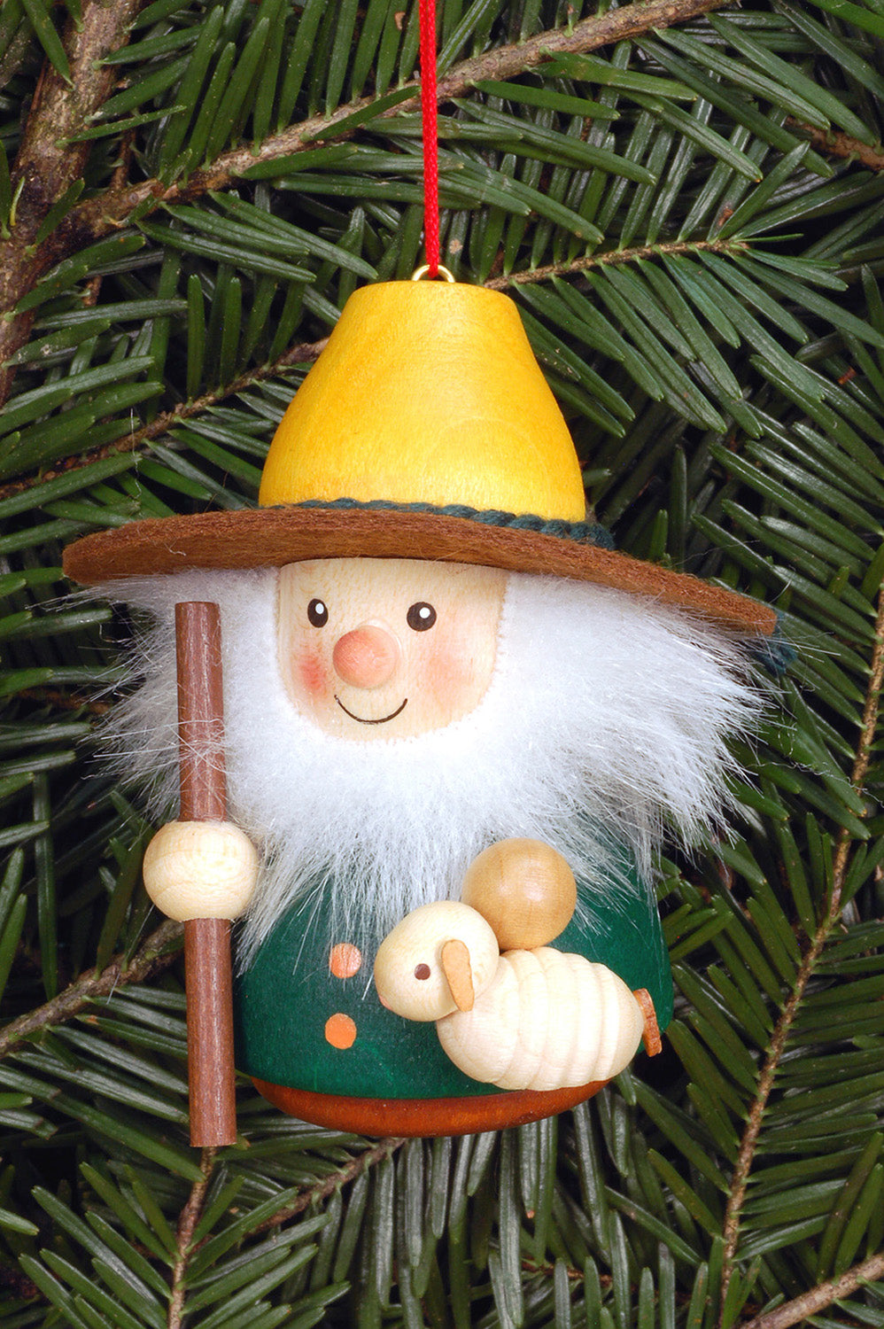 Little Gnome Christmas Tree Decoration Shepherd Colourful The German Christmas Shop