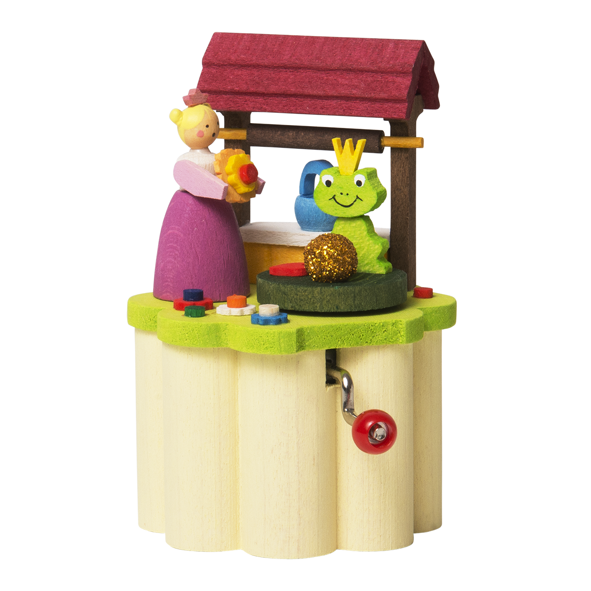 Music Box (Traditional Crank-Style) - Frog Prince