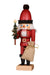 Nutcracker (Small) - Santa with Colourful Christmas Tree