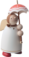Angel Figurine (Large) - Umbrella Brunette