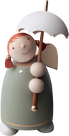 Angel Figurine (Large) - Umbrella Red Head