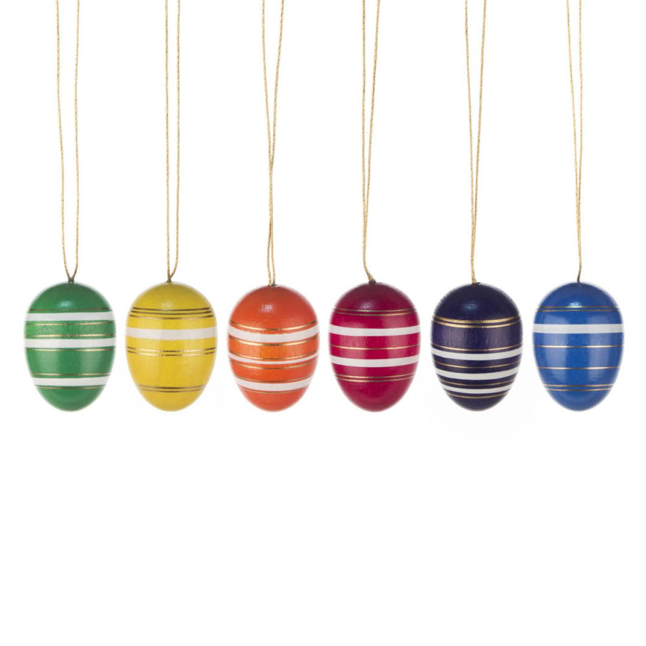 Easter Tree Decoration - Fine-banded Eggs