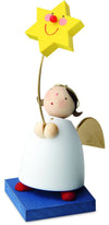 Little Angel Figurine - Guardian Angel with Star on a Pole