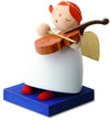 Little Angel Figurine - Guardian Angel with Violin
