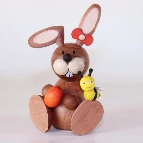 Osterhase Collectible - Bunny with Egg and Bumble Bee