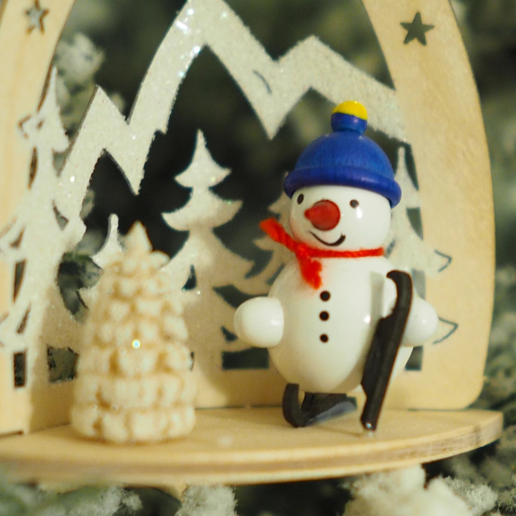 Nicole's Snowmen (Mountain Skater) - Christmas tree decoration