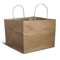 Kraft Cake Bag - Big - 10.5x10.5x8 inch