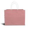 Cake bag for 1kg - Pink - Small - 8x8x8""
