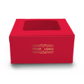 Cake Box for 2kg - Red - 10x10x5 inch