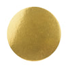 Round Cake Base - Stiff Board - Gold