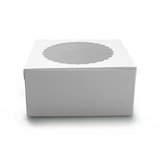 Cake Box for 1kg - White - 8x8x5 inch