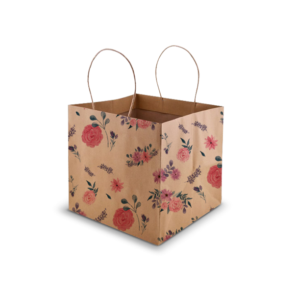 FloralKraft Cake Bag - Small - 8x8x8""