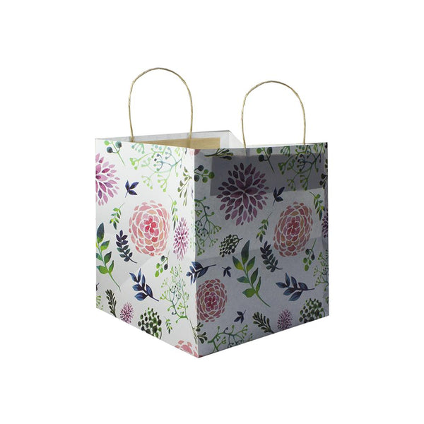 Floral Print - Cake Bag for 0.5 KG 21.5x14x17.5