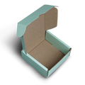 Corrugated Mint Hamper Box - Small - 11.5x12x5cm