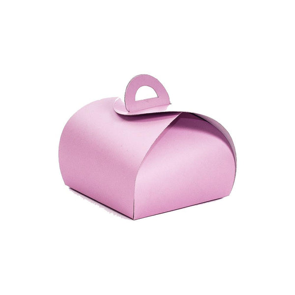 Macaron Box for 1 - Wrap Style - Pink