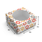 Multicolour Ikat Print - Cake Box for 1kg - 8x8x5