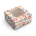 Multicolor Ikat Print - Cake Box for 1kg - 9x9x6 Inch