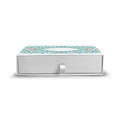 Taj Ornate Drawer Rigid Box - 18.5x18.5x5 CM