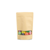 Zip Lock Pouch for 100 grams - Kraft - 10x18 CM