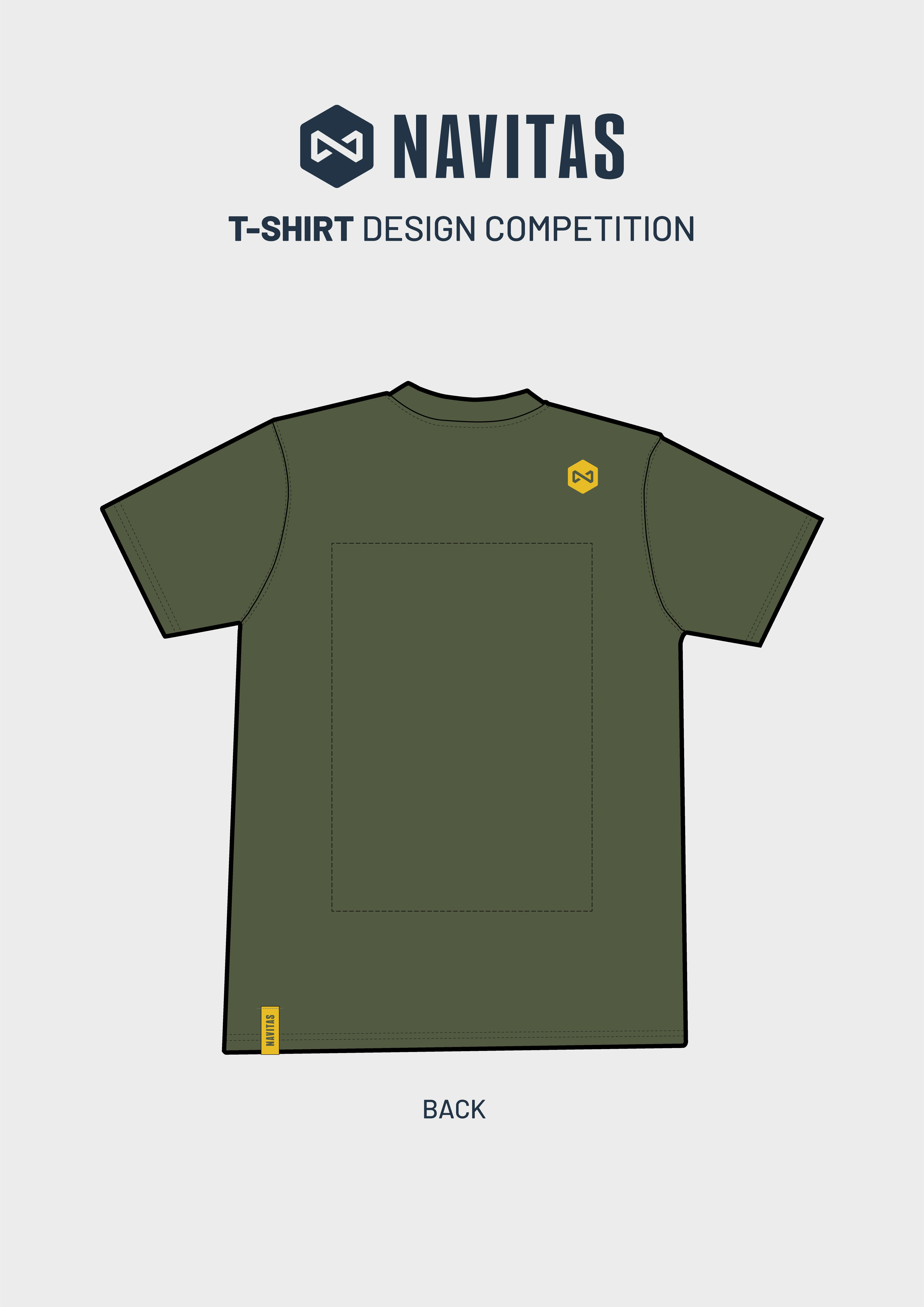 Navitas T-Shirt Design Back
