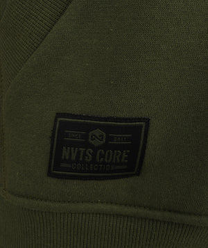CORE Green Zip Hoody