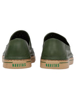 AXOL Green Slip On Shoe
