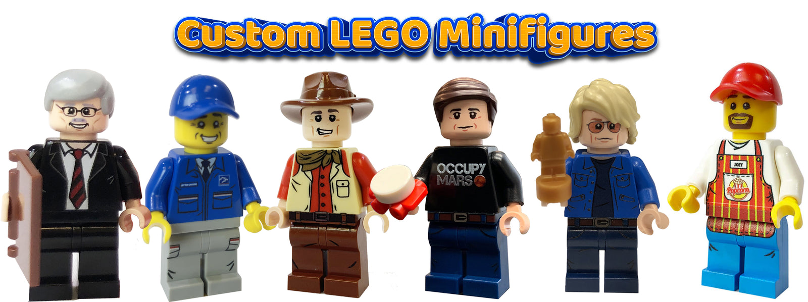 Custom LEGO Minifigures - Corporate Gifts