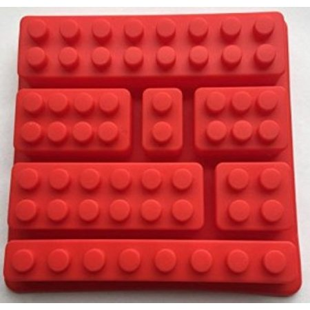 LEGO Inspired Brick Silicone Ice and Candy Tray