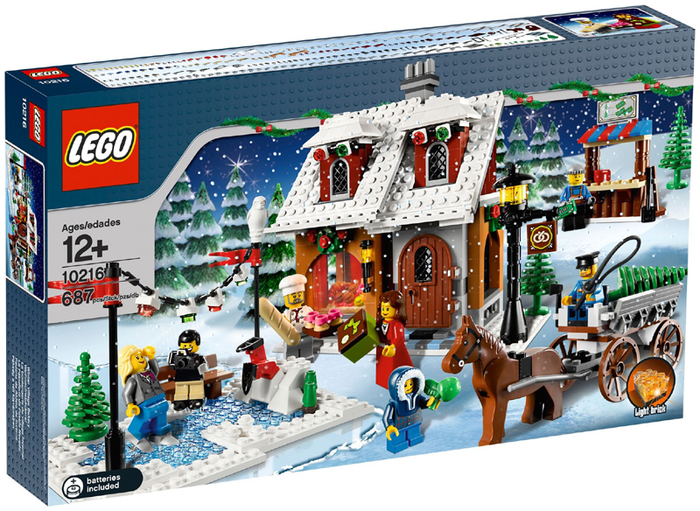 LEGO Holiday & Event: Christmas: Winter Village Bakery 10216