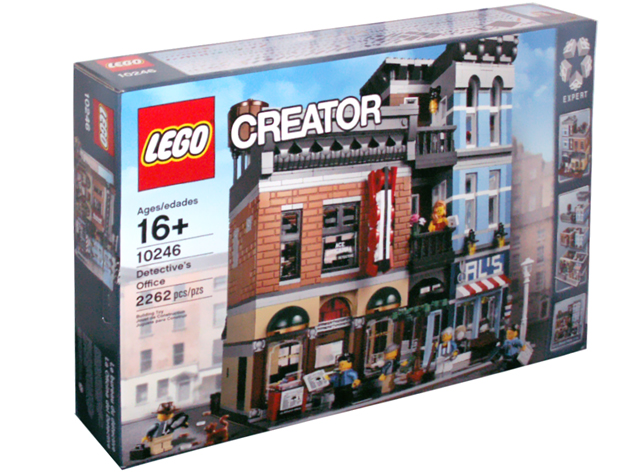 LEGO Modular Detective's Office set 10246