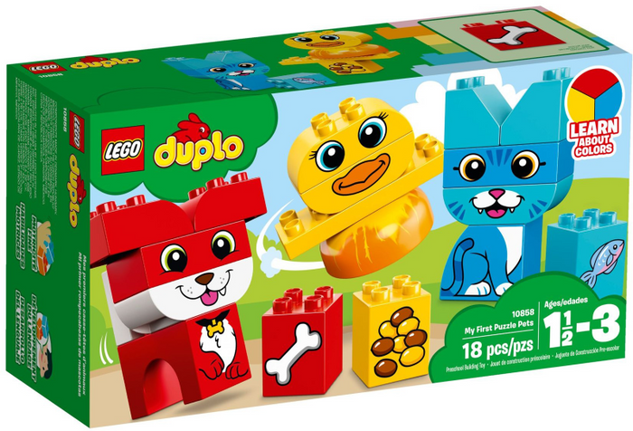 LEGO Duplo My First Puzzle Pets set 10858