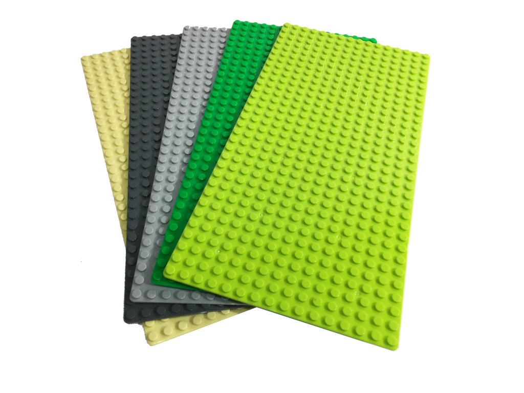 """16 GRAY 10/""""x10/"""" Building Base Plates 32x32 Studs Compatible with Classic Bricks"""
