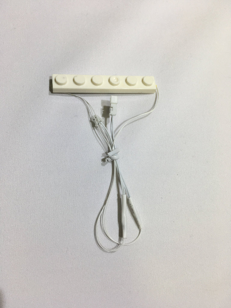 1 x 6 LED Plates - Create Your Own LED String - works with LEGO bricks - by Brick Loot