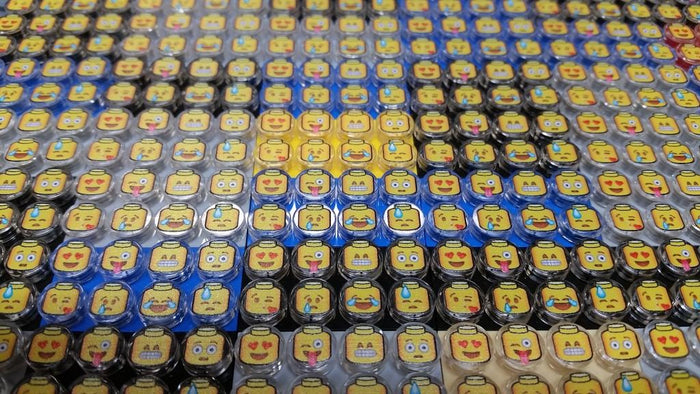 Brick Loot Exclusive Brickmoji Custom LEGO Tile Pack LIMITED EDITION