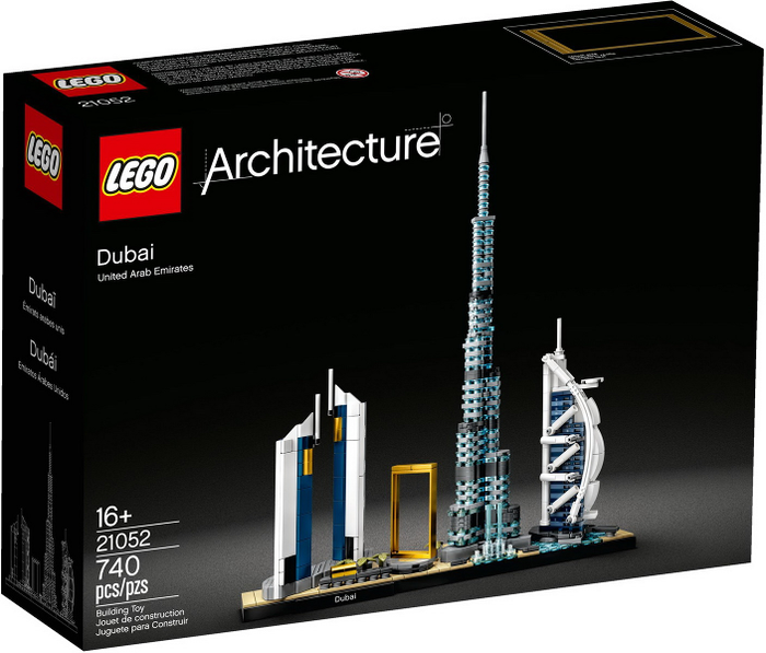 LEGO Architecture Dubai set 21052