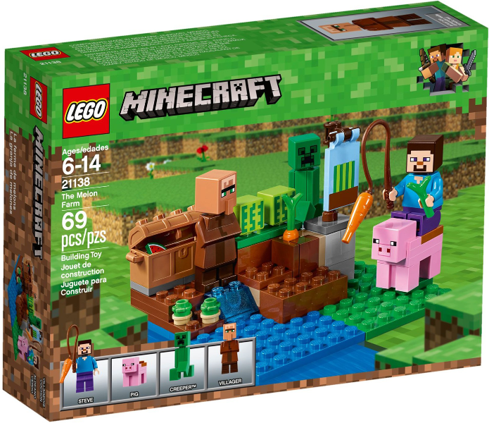 LEGO Minecraft The Melon Farm set 21138