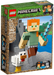LEGO-Minecraft-BigFig-Series-1-Minecraft-Alex-BigFig-with-Chicken-set-21149-sold-by-Brick-Loot