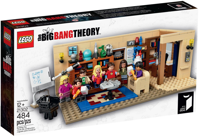 LEGO Ideas (CUUSOO): The Big Bang Theory set 21302