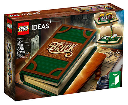 LEGO Ideas (CUUSOO): Brick Tales Pop-Up Book set 21315