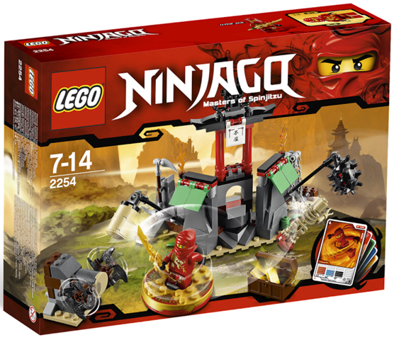 LEGO Ninjago: The Golden Weapons: Mountain Shrine set 2254