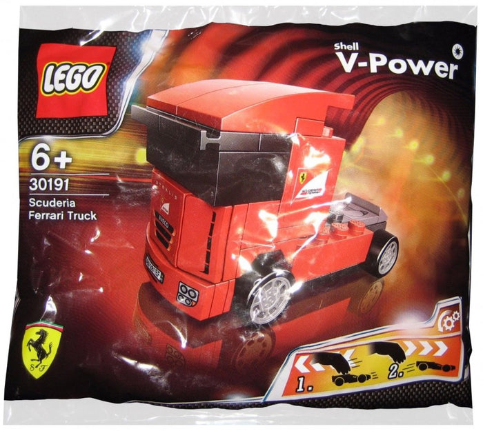 LEGO-Polybag-Exclusive-Shell-V-Power-Collection-Ferrari-Truck-set-30191-sold-by-Brick-Loot