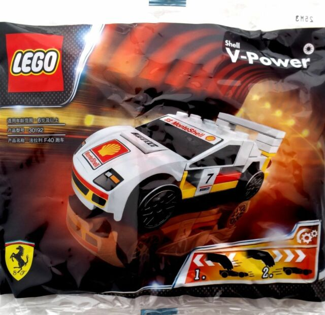 LEGO-Polybag-Exclusive-Shell-V-Power-Collection-Ferrari-F40 set 30192-sold-by-Brick-Loot