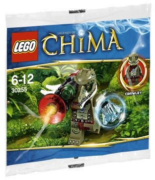 LEGO Polybag - Legends of Chima Crawley set 30255
